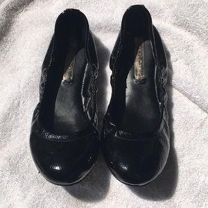 BCBG ballet patent ballet shoe.  Barely worn.